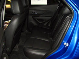 Encore's back seat folds flat, 60/40 to allow larger items to be carried - up to 48.4 cubic feet in all