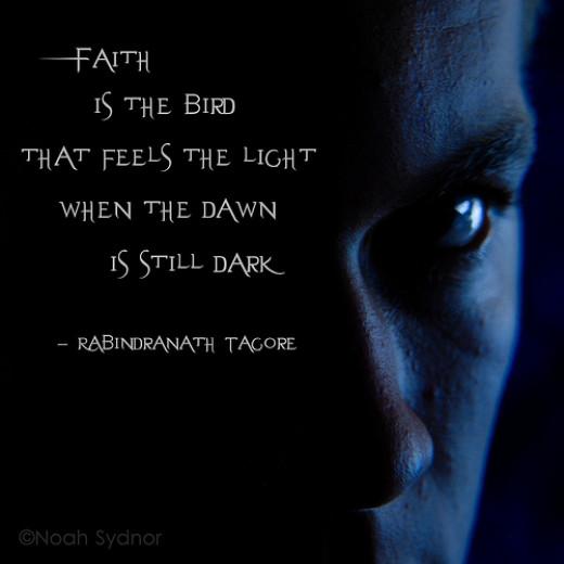 Faith is the bird... from Noah Sydnor flickr.com