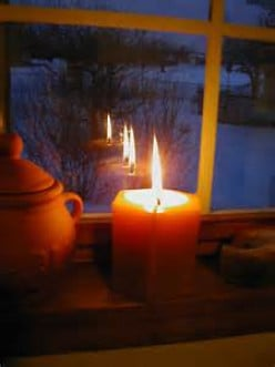 Poems by LLS - Candles Are Lit - Christmas Poem
