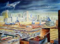 The Past Is Soon To Be Here: Futurism and the Day Science-Fiction Received an Art Movement