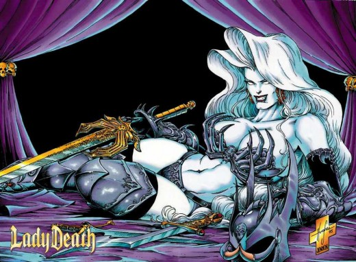 Lady Death Dragon Bone Armor
