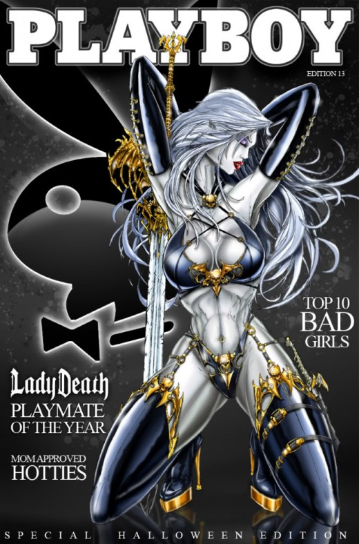 Lady Death Royal Gold Costume
