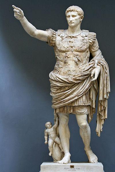 Augstus Casear statue.