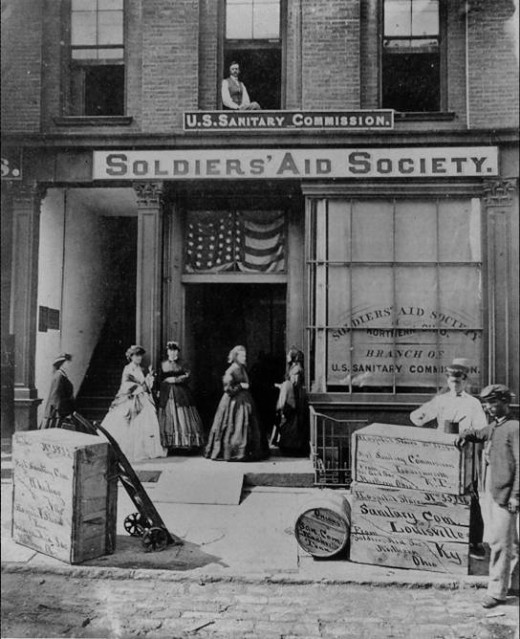 Soldier's Aid Society house