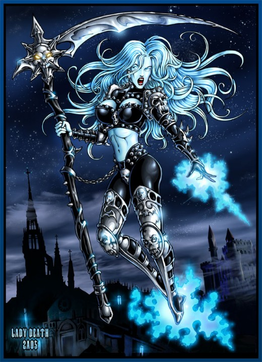 Lady Death Armor