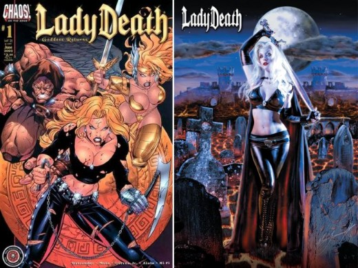 Lady Death Pants and Halter Top Costume