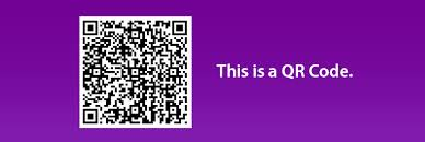 BitCoin clients use Qr code technology to speed up the transaction process. The image is translated into a Bitcoin address.