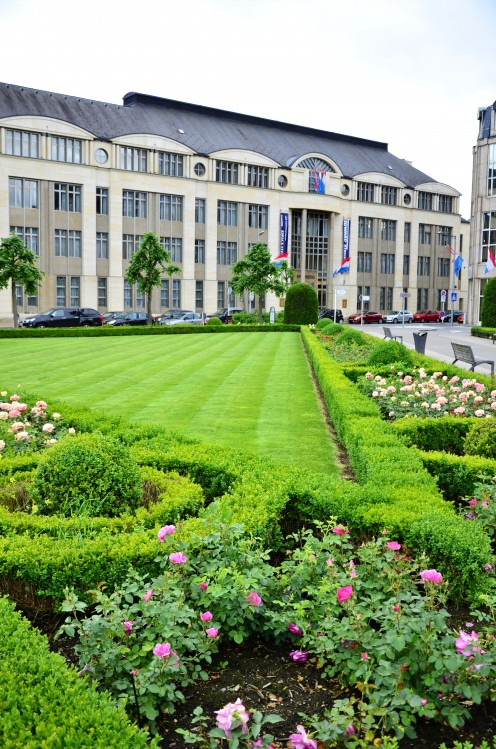 "Place des Martyrs (""Rousegäertchen""), Luxembourg City"