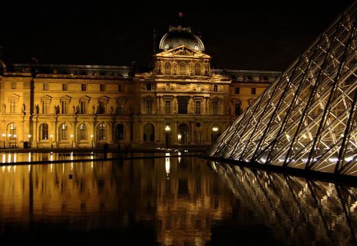 Louvre museum paris france - Construction of the louvre ...