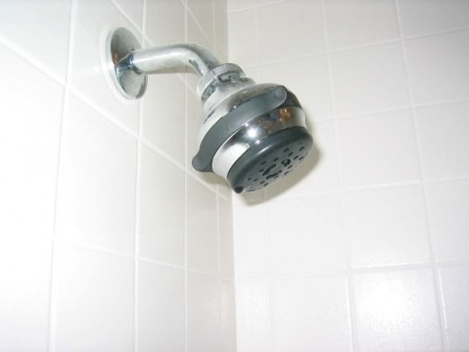 Low flow, WaterSense approved shower heads use 2.5 gallon of water or less every minute.