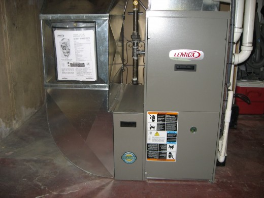 A furnace of this size is too much for a 1,000 sq. ft. home.