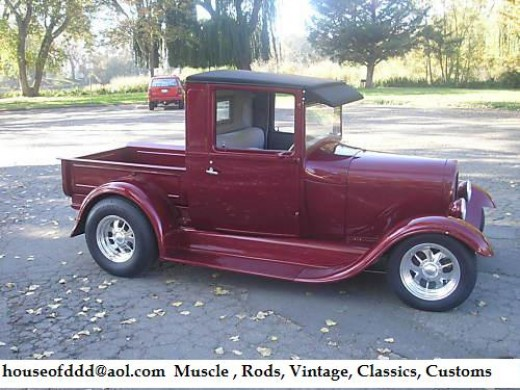 For Sale 1928 Ford Show Pickup Truck Complete Resto 30 32 HotRod 1