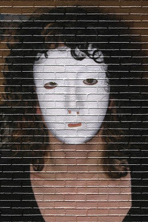 365 Days - Day 18 - Brick Wall from Paula Bailey flickr.com