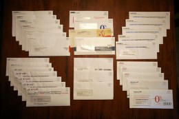 Probably the only time you look forward to all the available credit card offers in your mailbox