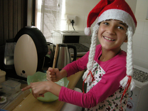 Your kids will have so much fun making the cookies for Santa