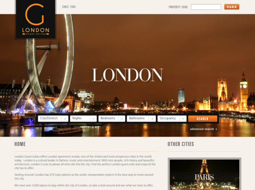 London Guest Suites Redesign