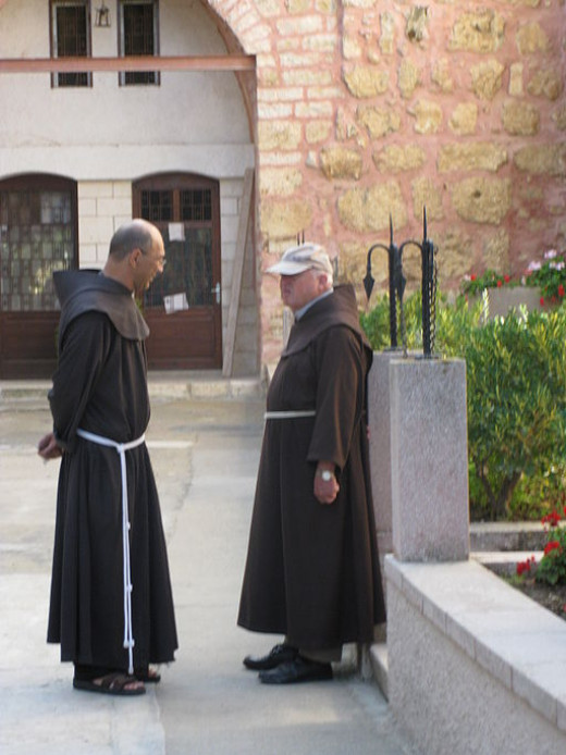 We saw monks similar to these at Graymoor. We didn't know what to expect at the monastery, and we were curious to find out what the monks would be like.