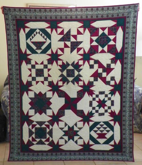 Maverick I - To New Mexico: the quilt love inspired me to finish
