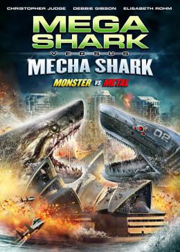 """Mega Shark vs. Mecha Shark"" artwork"