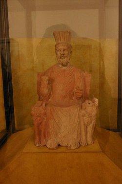 Statue of Baal Hamon (Bardo Museum-Tunisia)