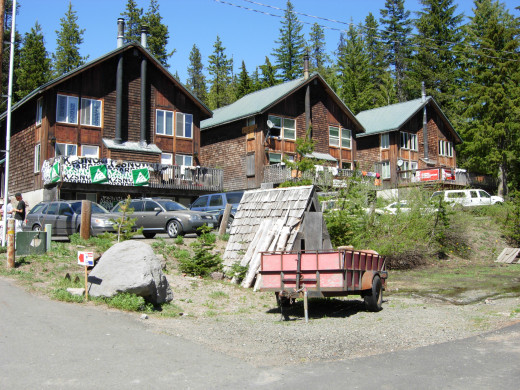 Left to right: Whole House, Patterson, Creekside Chalets