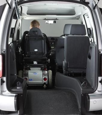 Passenger-Up-Front Vehicle
