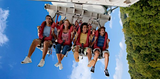 Alpengiest® at Busch Gardens® Williamsburg sends riders 195 feet in the air.