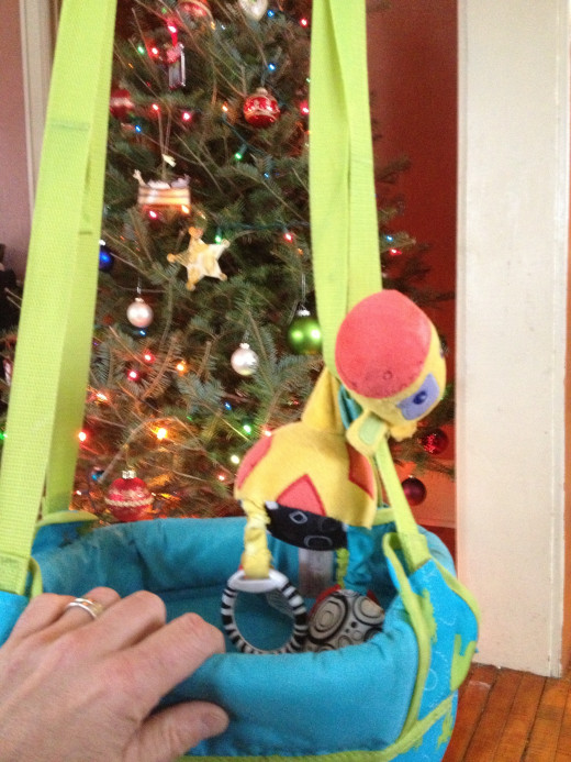 Bright Starts toys make a great upgrade to the Johnny Jump Up!