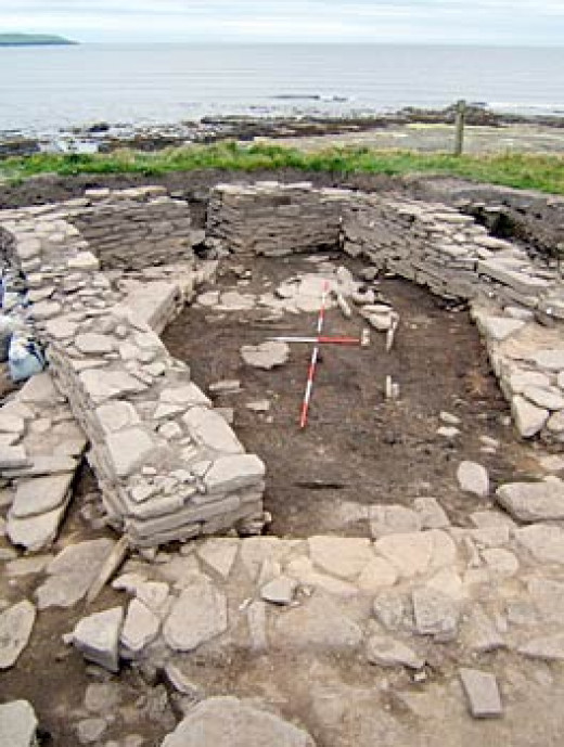 Westray settlement dig site