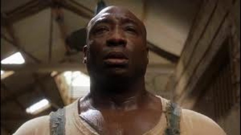 Michael Clarke Duncan starred in The Green Mile along with Tom Hanks. The Green Mile film is based on one of Stephen King's books.