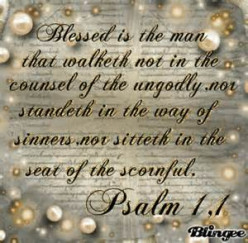 Blessed is the Man (Psalm 1:1)