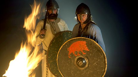 Warriors of the flame - the light of Orkney will soon be doused, however!