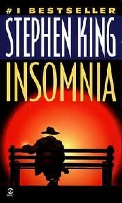 Stephen King's Insomnia was a numer one best seller. It has since been adapted to the Big Screen.