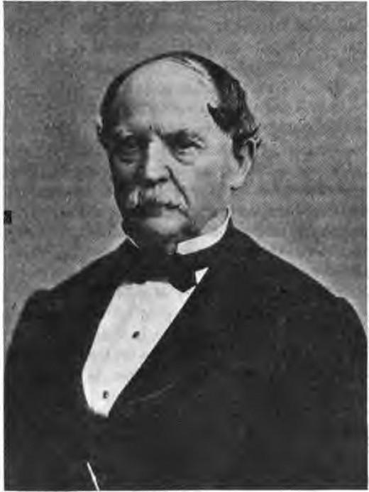 James Lanier renegotiated Indiana's debt in 1841