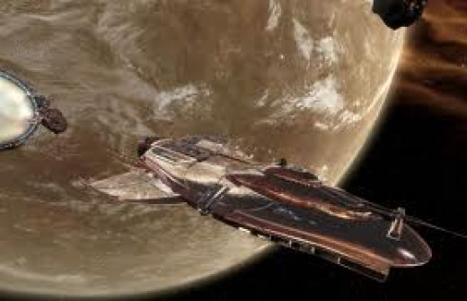 X3:  Reunion - One of the many capital ships that the player can fly, in this case a Paranid Capital Ship coming out of a Jump Gate