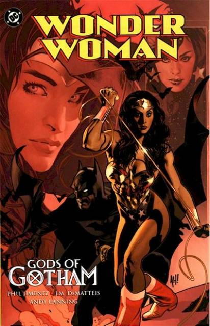 Gods of Gotham trade paperback cover.