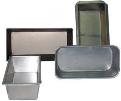 Bread pans in different sizes, be sure to adjust baking times accordingly