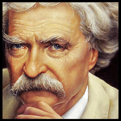 """A man who carries a cat by the tail learns something he can learn in no other way."" Mark Twain"