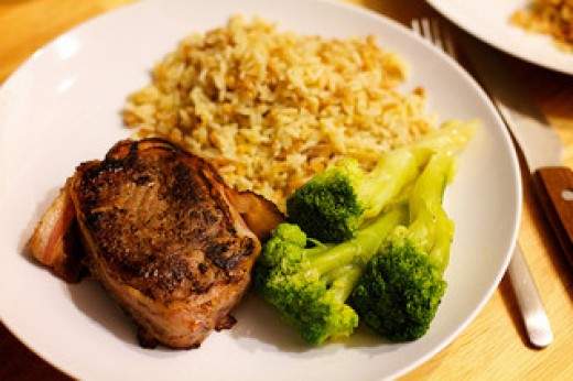 a great muscle building meal