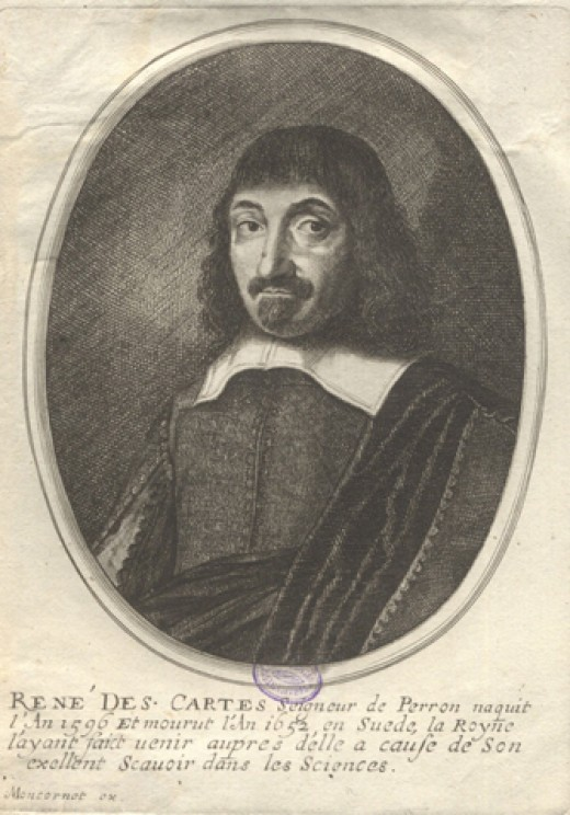 Portrait of Rene Descartes