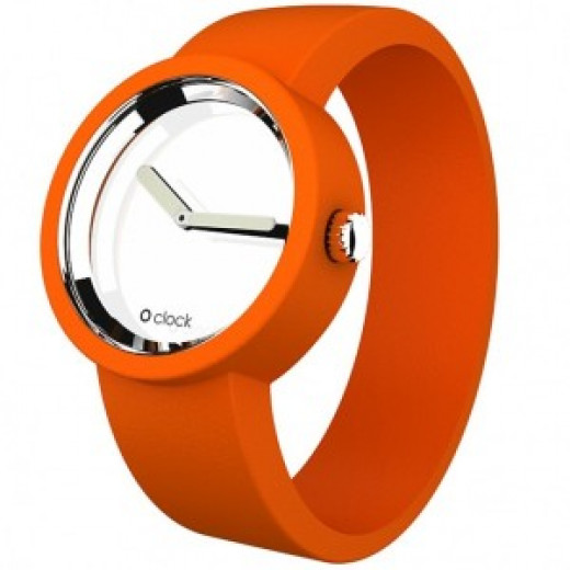 Orange Mirror Watch from OClock