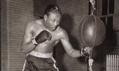 Kid Gavilan is the former Welterweight world champion from Cuba.