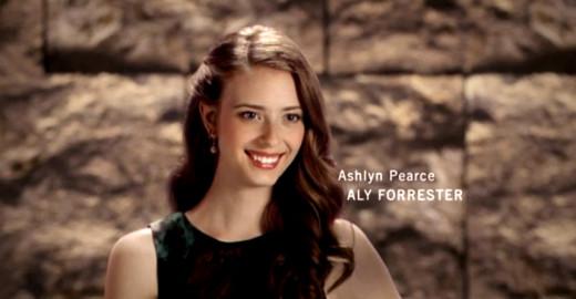 Ashlyn Pearce as Aly Forrester