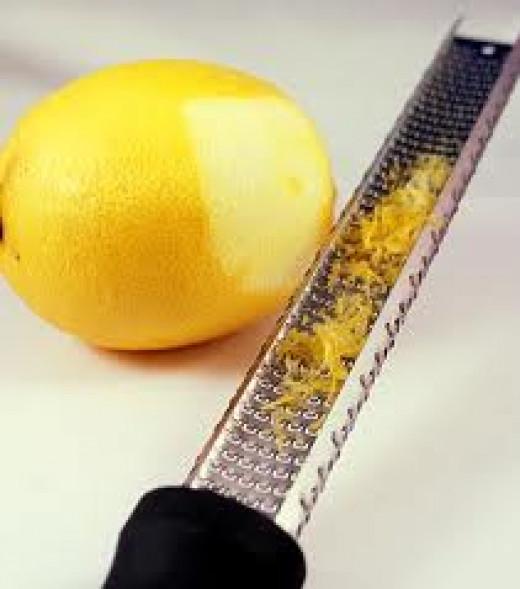 Lemon Zest Source: http://bakingbites.com/2009/03/what-is-lemon-zest/https://www.google.com/search?