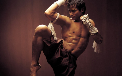famous Muay Thai fighter and actor, Tony Jaa