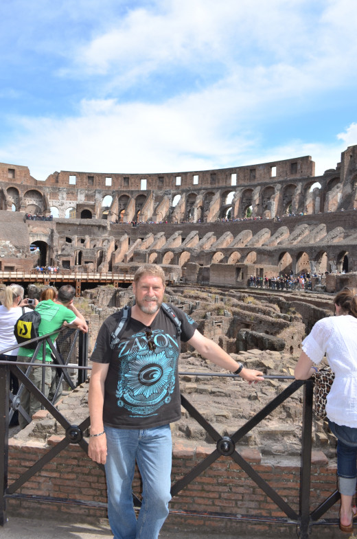 The Colosseum from Tony DeLorger