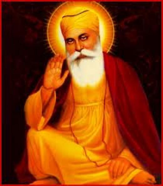 Guru Nanak Dev Ji, The Founder and First Guru of Sikhism, A Religion took birth in India.