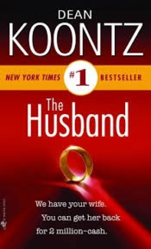 The Husband is a National Bestseller and it's a thriller that is hard to put down. The book will have you looking over your shoulder in fear.