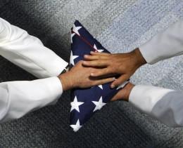 US Flag Ceremony