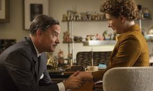 Tom Hanks is Walt Disney and Emma Thompson is Mrs. P.L. Travers in the endearing drama Saving Mr. Banks that tells the story of the making of Disney's classic Mary Poppins